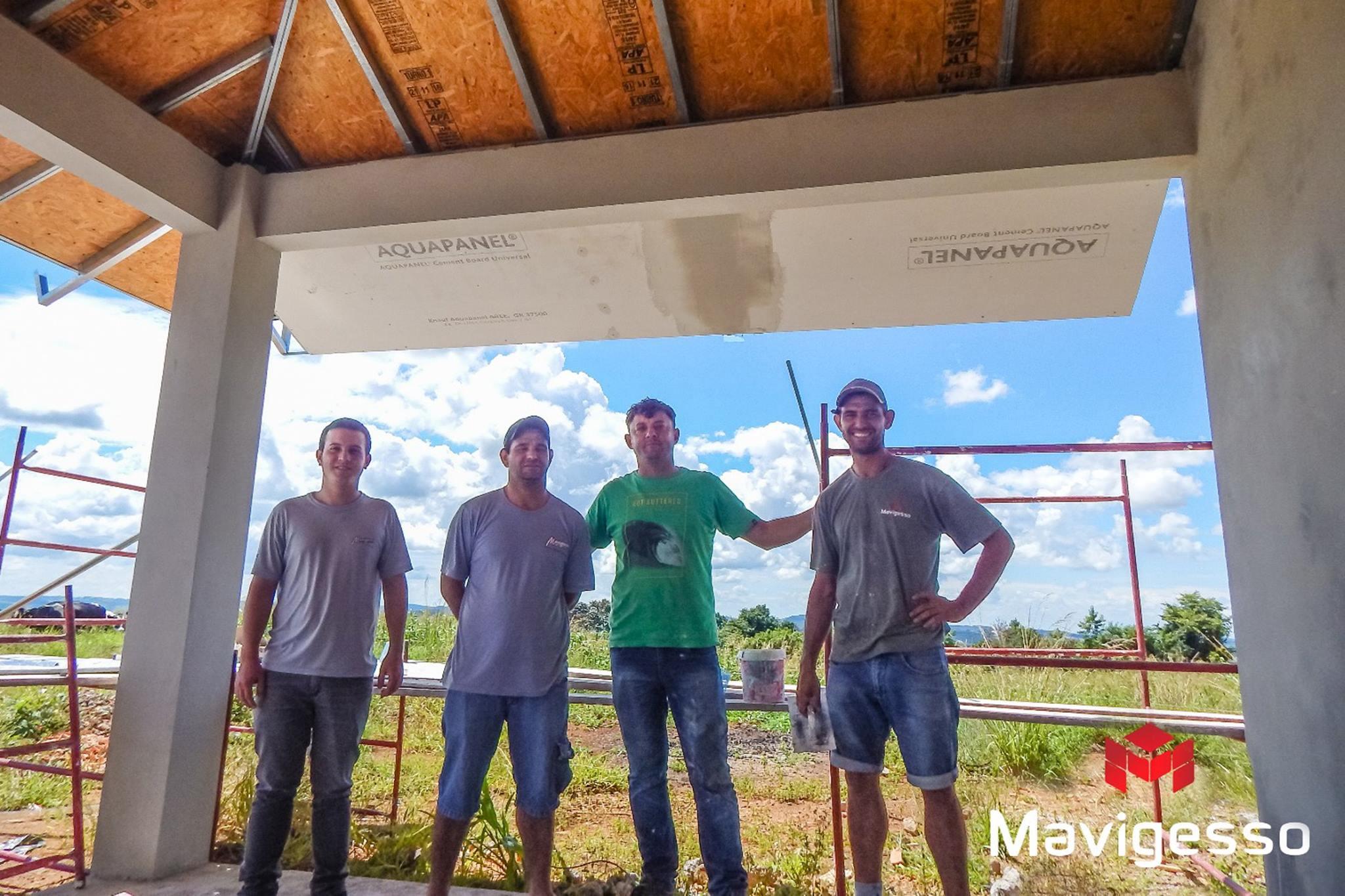Treinamento Knauf com colaboradores Mavigesso